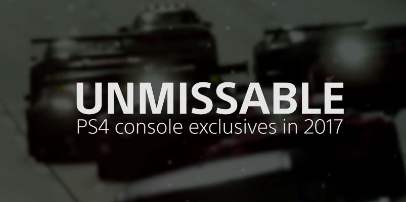 Estos son los juegos exclusivos que tendrá PlayStation 4 en 2017
