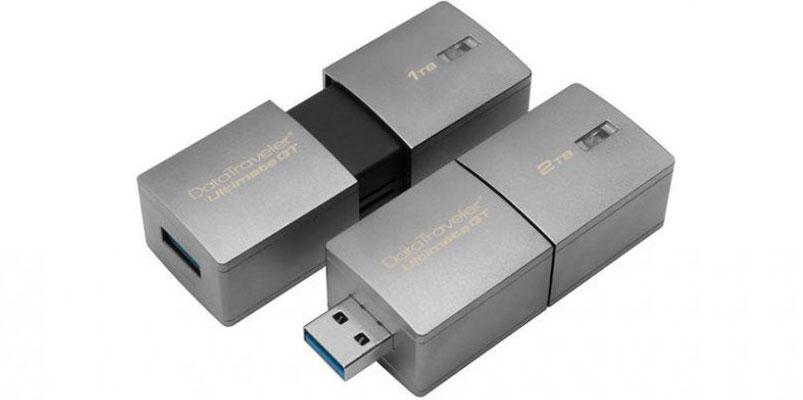 Kingston presenta en CES 2017 una memoria USB de 2TB