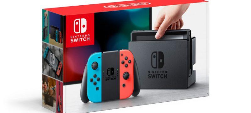 Nintendo Switch caja