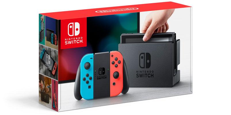 Nintendo Switch llegará el 3 de marzo por 299.99 dólares