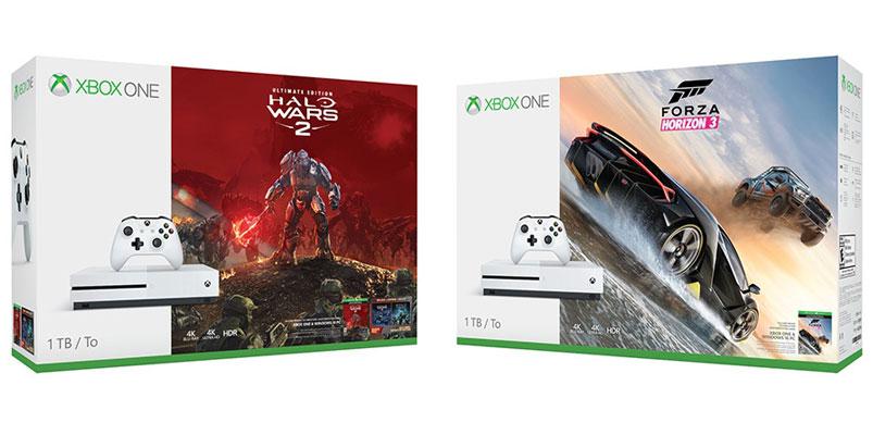 Halo Wars 2 y Forza Horizon 3 en bundles de Xbox One S