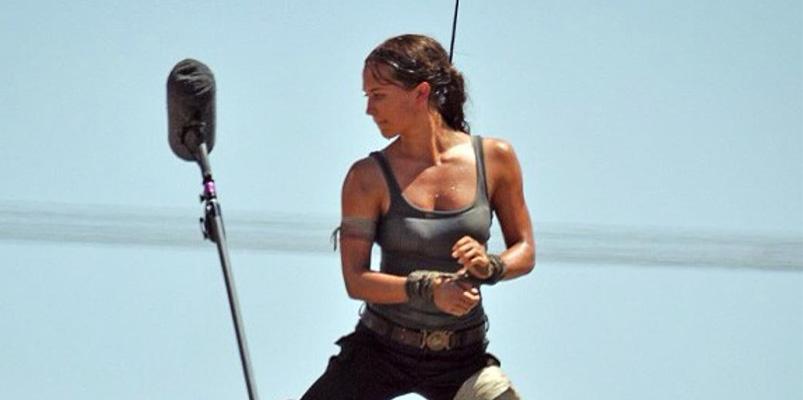 Así se ve Alicia Vikander como Lara Croft de Tomb Raider
