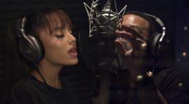 Ariana Grande y John Legend en La Bella y La Bestia