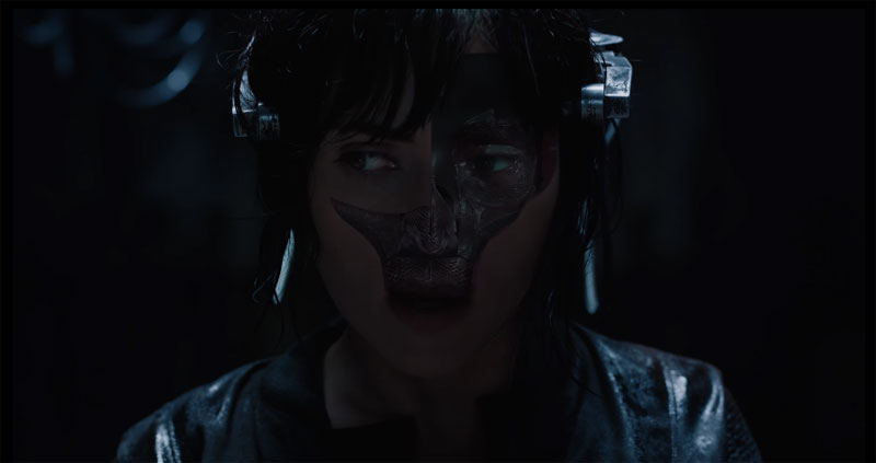 Ghost In The Shell Super Bowl LI