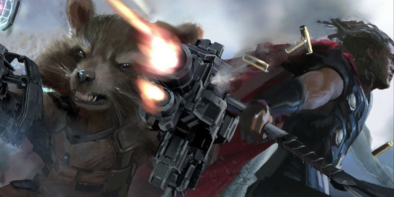Inicio Avengers Infinity War