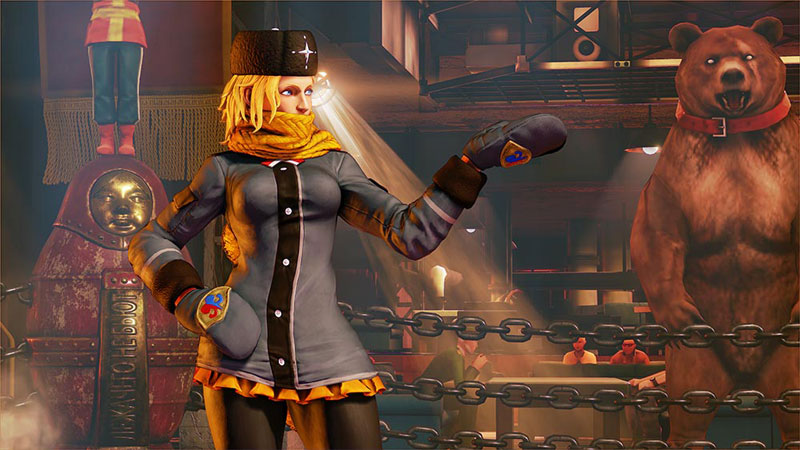 Kolin Street Fighter V