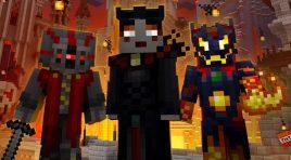 Los nuevos skins siniestros ya disponibles para Minecraft para Xbox One