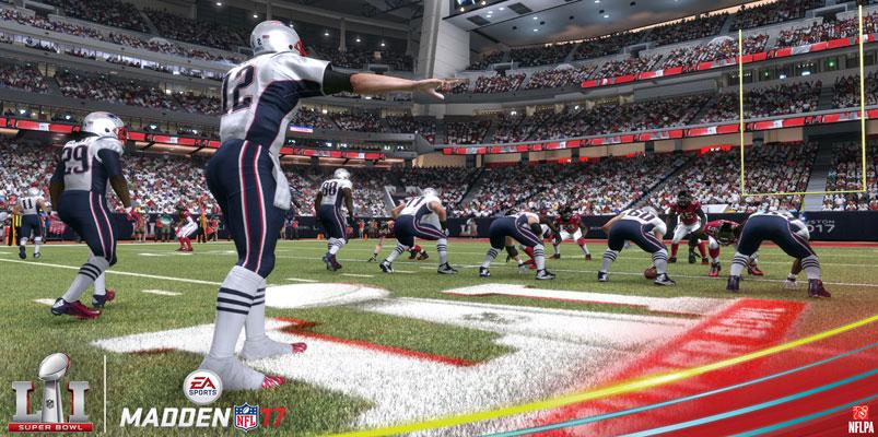 EA Sports Madden NFL 17 te dice quién gana el Super Bowl LI