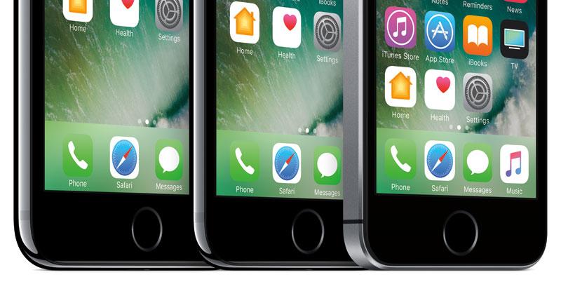 iPhone pantalla OLED Samsung