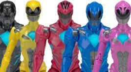 Los juguetes basados en Power Rangers Movie en México