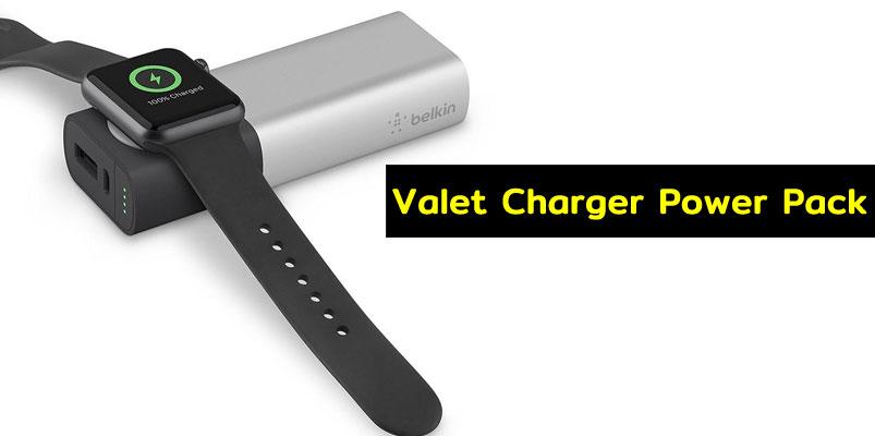 Carga tu iPhone y Apple Watch con el Valet Charger Power Pack