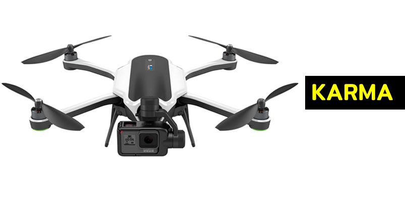 Ya puedes comprar el dron Karma de GoPro en México