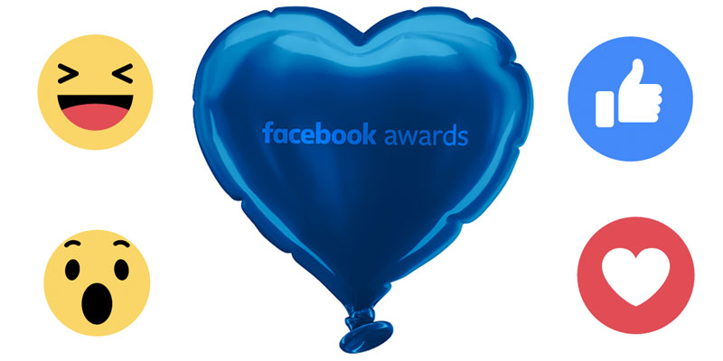 Facebook Awards 2017 inscripcion
