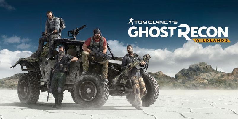 Más de 6.8 millones de gamers jugaron con Ghost Recon Wildlands