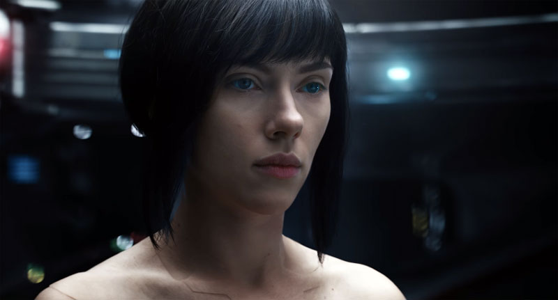 Ghost in the Shell La Vigilante del Futuro piel