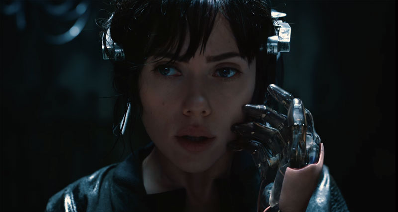 Ghost in the Shell La Vigilante del Futuro robot