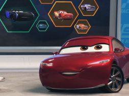 Lewis Hamilton en Cars 3