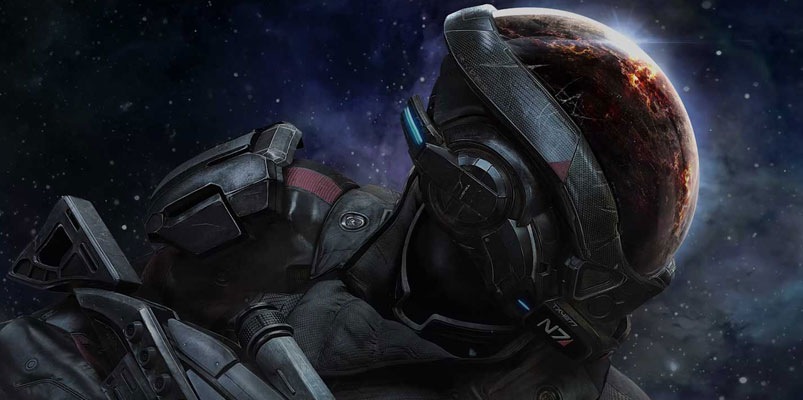 Todo listo para el lanzamiento de Mass Effect: Andromeda