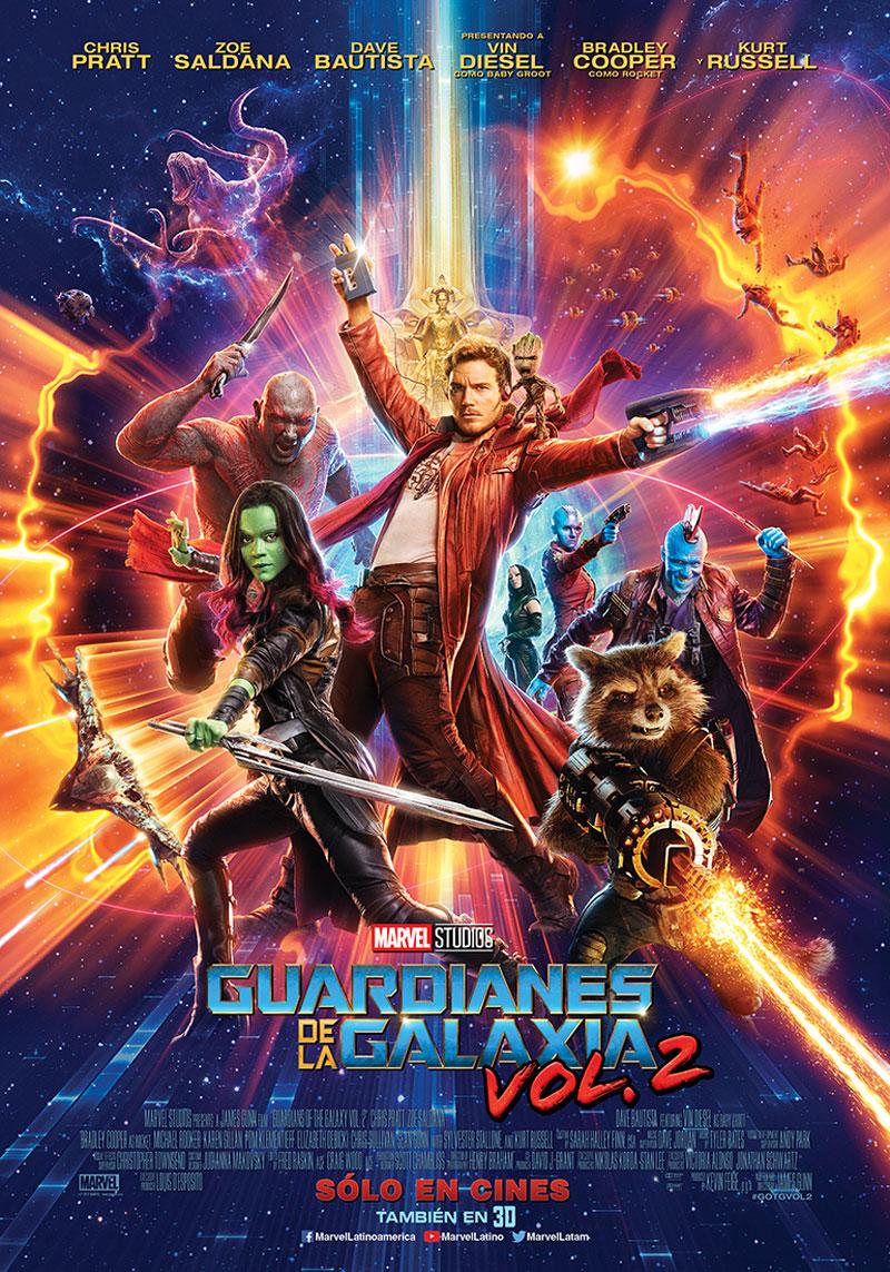 Nuevo Poster Guardianes de la Galaxia Vol 2