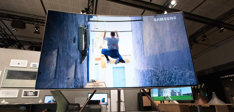 Samsung TV QLED 2017 arte