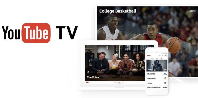 YouTube TV va contra la televisión por cable y Netflix
