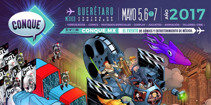 Programa de actividades de CONQUE 2017 en Querétaro