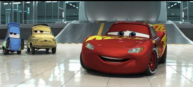 Apoyo Cars 3 McQueen