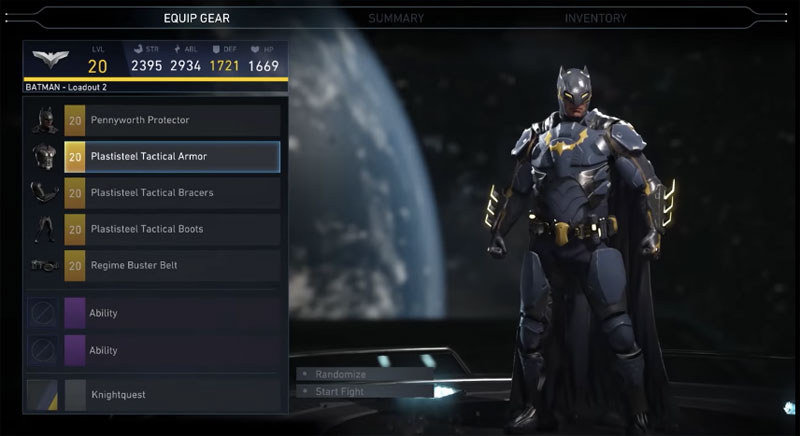 Gear System Injustice 2