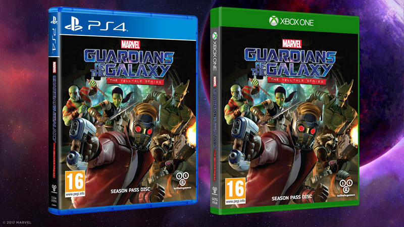 Guardianes de la Galaxia The Telltale Series Cajas