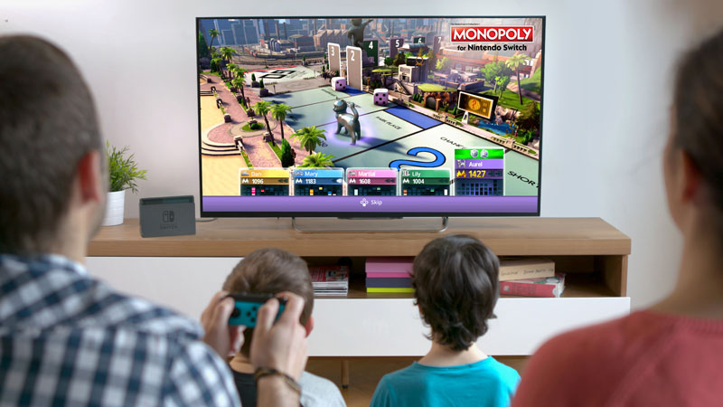 Monopoly Nintendo Switch casa