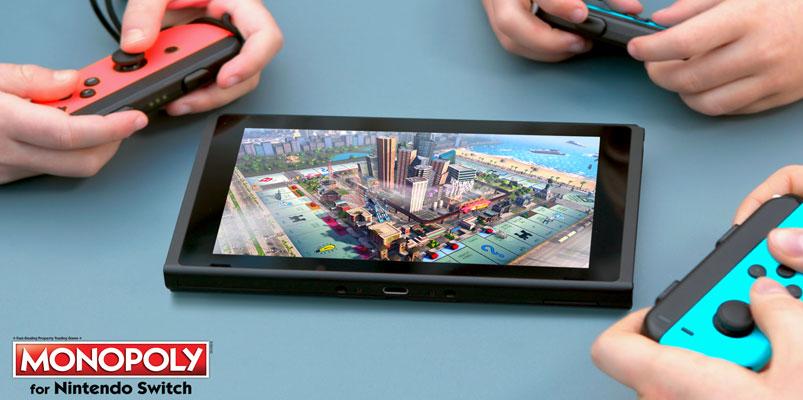 Ahora jugarás Monopoly en cualquier lugar con Nintendo Switch