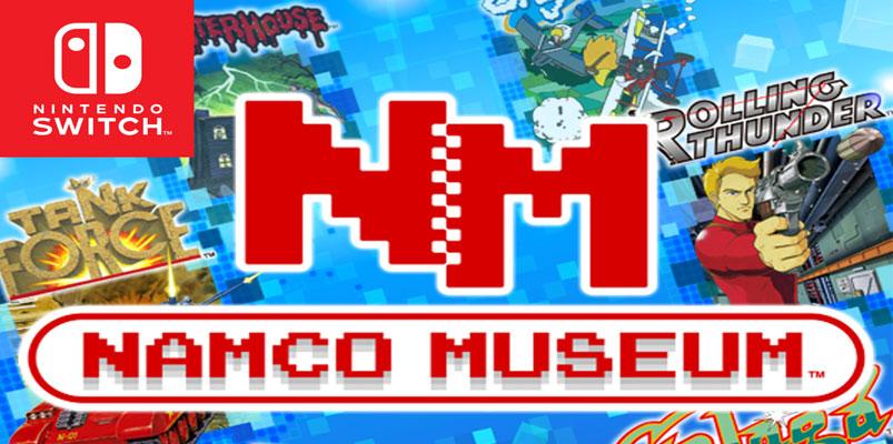 Namco Museum llegará como exclusiva para Nintendo Switch