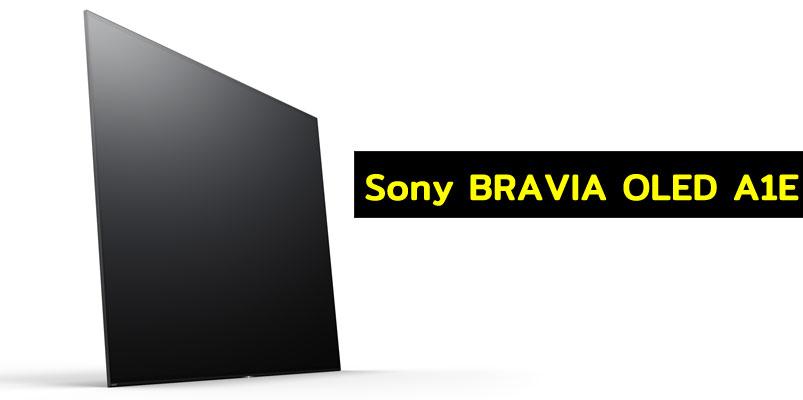 Llega a México la Sony BRAVIA OLED A1E sin bocinas