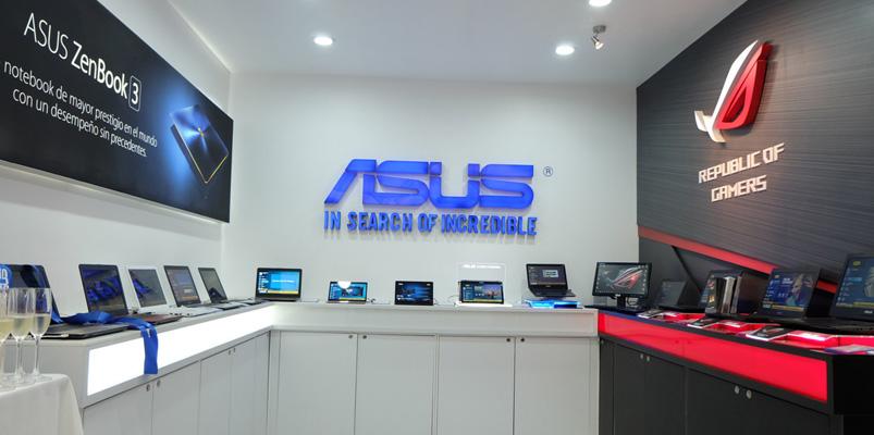 La primera ASUS Store llegó a la Ciudad de México