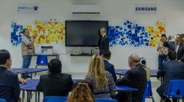 Samsung inaugura Aula Digital en secundaria técnica de CDMX