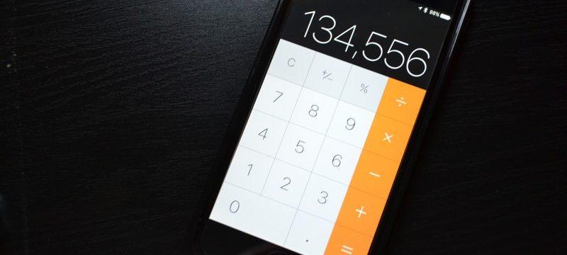 iphone calculadora