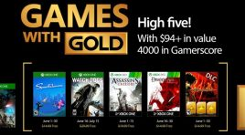 Xbox anuncia los títulos Games With Gold para junio 2017