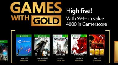 Games with gold junio 2017