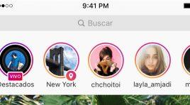 Instagram lanza las Stories con ubicación y hashtag