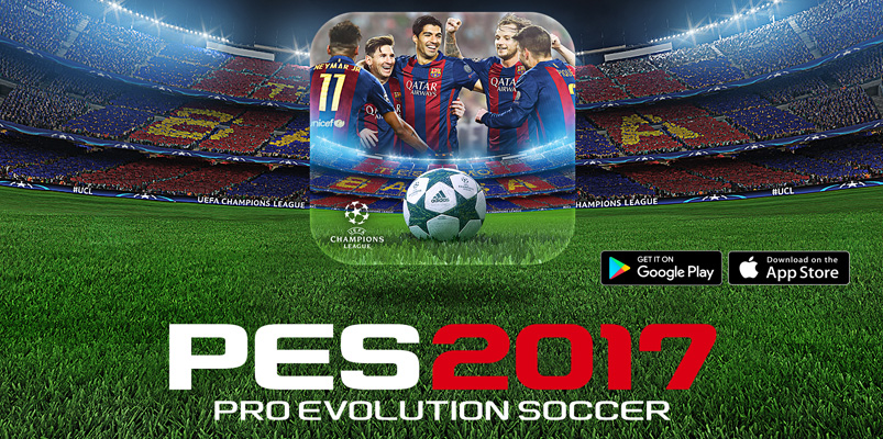 Pro Evolution Soccer 2017 para dispositivos móviles