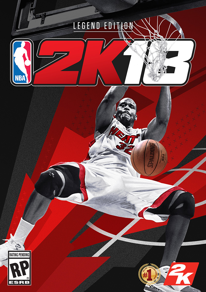 Shaq NBA 2K18 Legend Edition