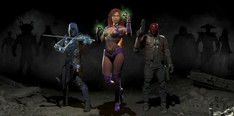 Sub-Zero, Red Hood y Starfire llegarán a Injustice 2