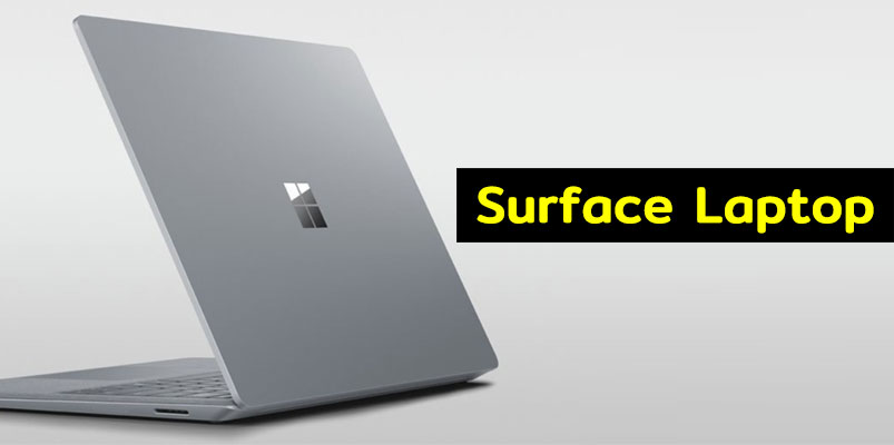 Microsoft Surface Laptop con Windows 10 S y mucha batería