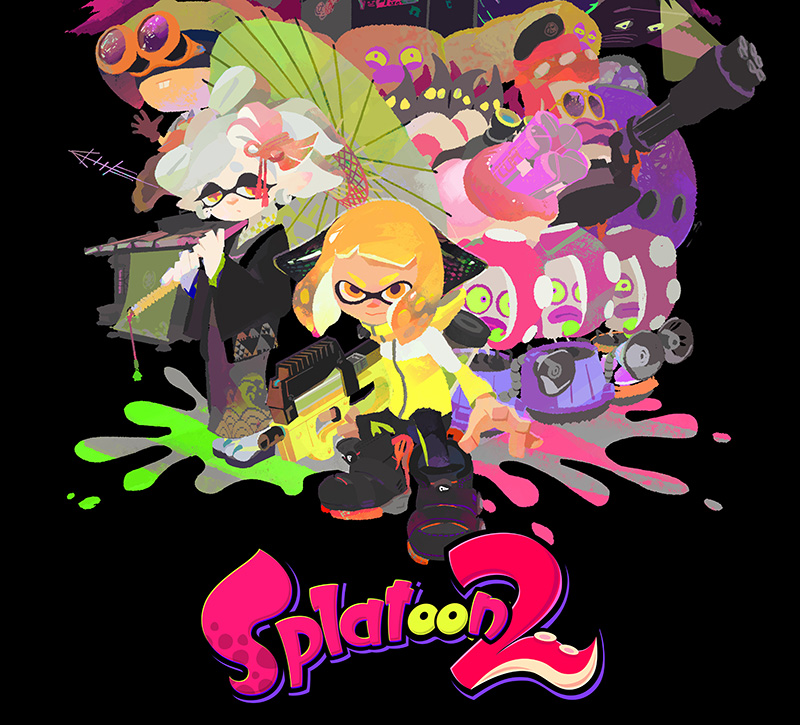 Switch Splatoon 2 artwork