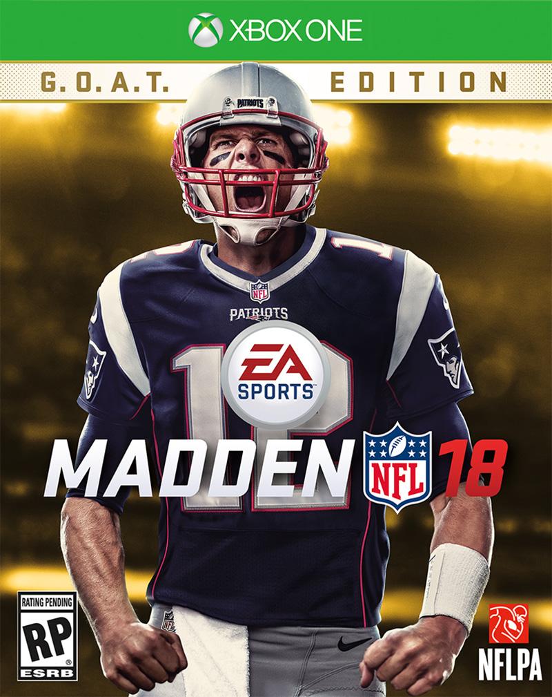 Tom Brady Portada Madden NFL 18