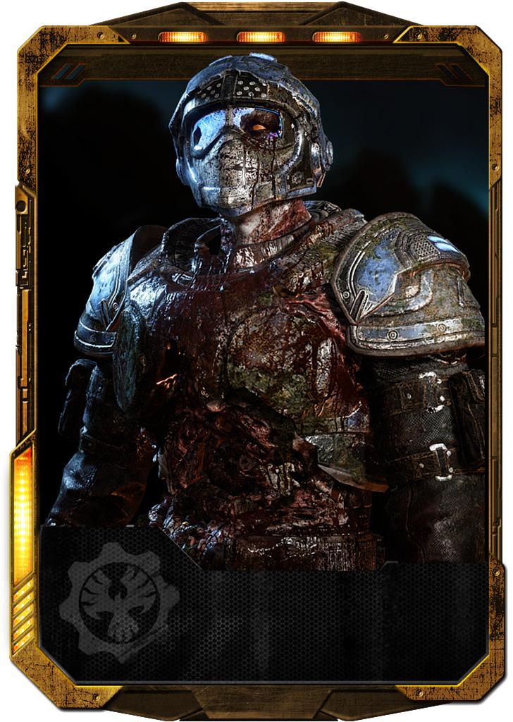 Zombie Benjamin Carmine