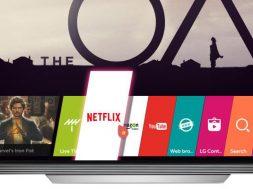 televisor LG 4K Netflix 4K