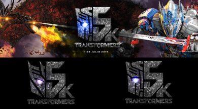 Carrera nocturna Transformers