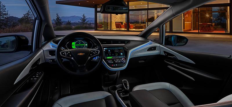 Chevrolet Bolt EV 2017 interiores