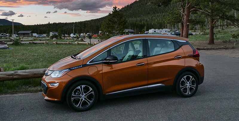 Chevrolet Bolt EV 2017 naranja